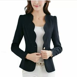 Jackets & Blazers - Bundle of 2 unique black blazers
